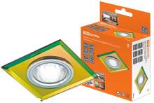 Светильник встраиваемый СВ 03-01 MR16 50Вт G5.3 мульти/хром TDM