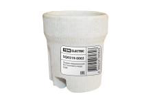 Патрон керамический E27 (контакты медь, гильза медь) TDM