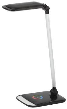ЭРА NLED-460-14W-BK-S черный с серебром наст.светильник