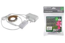 Комплект светодиодной ленты SMD2835-60LED/м-12 В-4,8 Вт/м-IP65-6000 К(1м), 6 ВтTDM