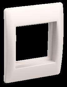 Рамка и суппорт для К.К. универсал. на 2 модуля
