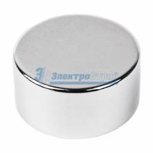 Неодимовый магнит диск 20х10мм сцепление 11,2 кг (Упаковка 1 шт)