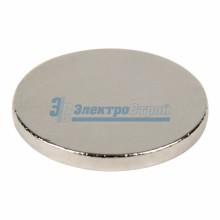 Неодимовый магнит диск 10х1 мм сцепление 0,5 кг (упаковка 30 шт)