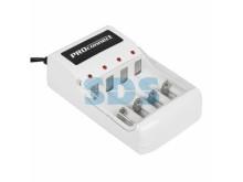 Зарядное устройство  PROCONNECT PC-05  для аккумуляторов типа АА/ААА