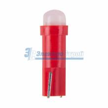 Светодиодная лампочка Т5, цвет красный