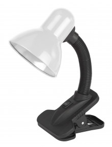 ЭРА наст.светильник N-212-E27-40W-W белый