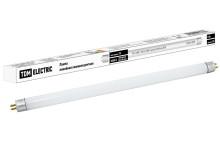 Лампа люминесцентная линейная двухцокольная ЛЛ-12/8Вт, T4/G5, 4000 К, длина 339,4мм TDM