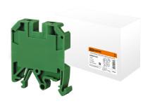 Зажим наборный ЗНИ-10мм2 (JXB70А) зеленый TDM