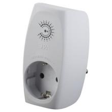 Сетевой фильтр SF-1e-W (new)  ЭРА Сет.фильтр макс. защита, с/з, 1 гн, 16А, шторки, белый