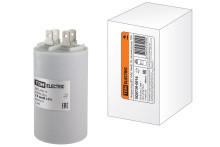 Конденсатор ДПС 450В, 14мкФ, 5%, плоский разъем, TDM