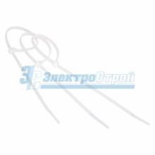 Хомут nylon 300 x 3,5 мм 100 шт белый  профессиональный
