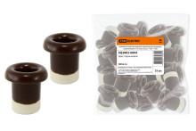 Керамический проходной изолятор для провода коричневый d 12,5мм (25шт)