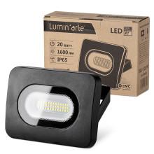 Светодиодный прожектор LFL-20W/05, 5500K, 20 W SMD, IP 65,цвет серый, слим