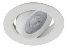 Светильник KL LED 22A-5 4K WH  ЭРА светодиодный круглый поворотн. LED SMD 5W 4000K, белый