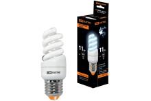 Лампа энергосберегающая КЛЛ-FSТ2-11 Вт-4000 К–Е27 КОМПАКТ (35х98 мм) TDM
