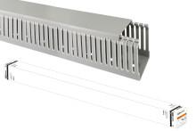 Кабель-канал перфорированный 40х60 перфорация 4/6мм TDM (24 м)