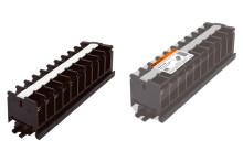 Блок зажимов наборный БЗН 60А на DIN-рейку 10 пар TDM