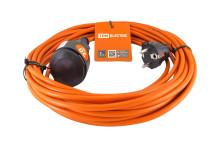 Удлинитель-шнур силовой УШ6 TDM (штепс. гнездо, 20м ПВС 2х0,75)