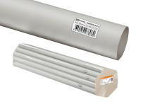 Труба гладкая жесткая ПВХ d 20 (104 м) длина 2 м индивид. штрихкод TDM