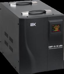 Стабилизатор напряжения серии HOME 12 кВА (СНР1-0-12) IEK распродажа