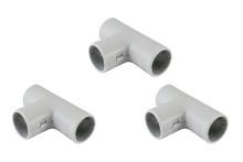 Тройник соед. для трубы 16 мм (50шт) TDM