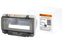 Крышка защитная для выреза в шкафу пластик 8 модулей IP67 TDM