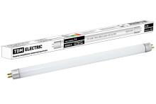 Лампа люминесцентная линейная двухцокольная ЛЛ-12/6Вт, T4/G5, 4000 К, длина 219,2мм  TDM
