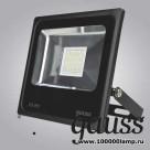 Прожектор светодиодный Gauss Elementary 20W 1320lm IP65 6500К черный 1/20