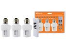 Комплект для беспроводного управления освещением ПУ3-П1.3-Е27 (3 приемника)